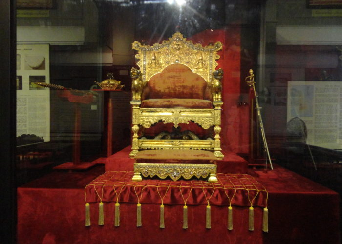 The Gold throne
