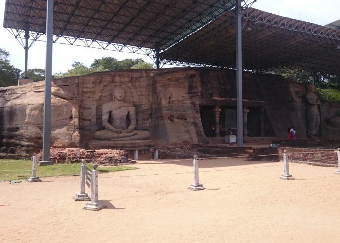 Budda city Polonnaruwa