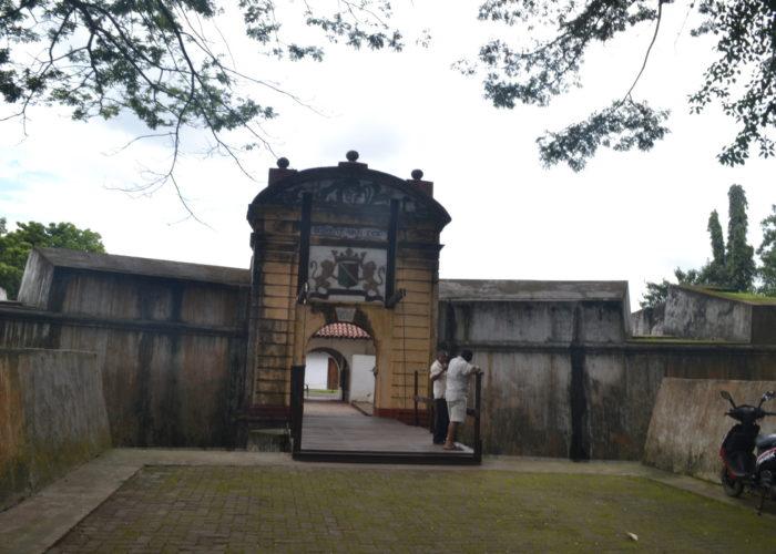 Enterance Fort Matara