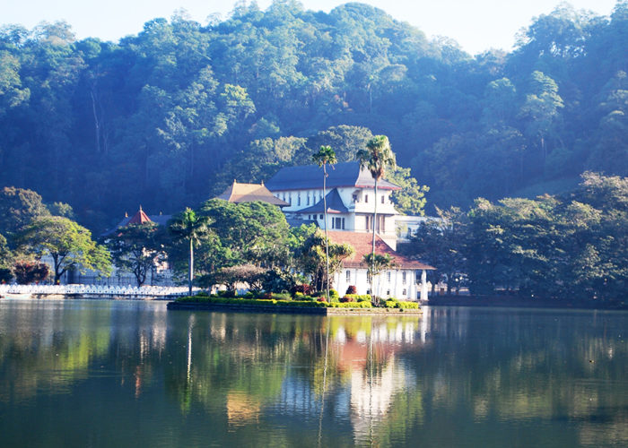 Kandy Sacred City Of Sri Lanka Main Sights On The Map Photo