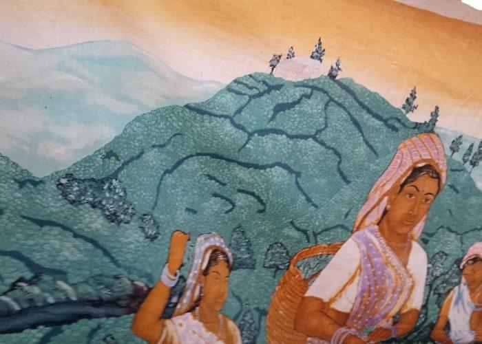 Batik art picture