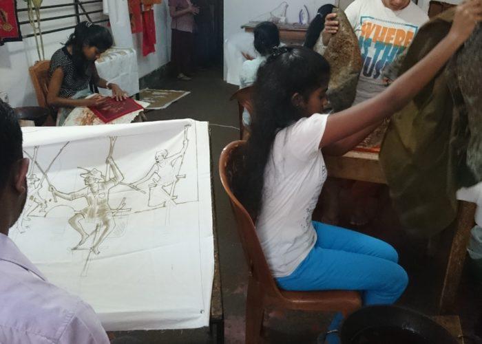 Batik Kandy factory master