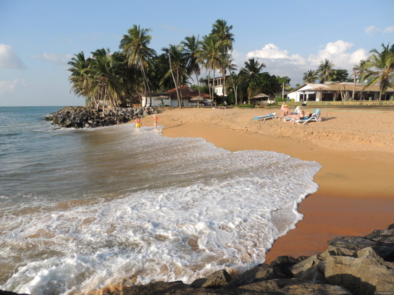 Золотой пляж Маравиллы