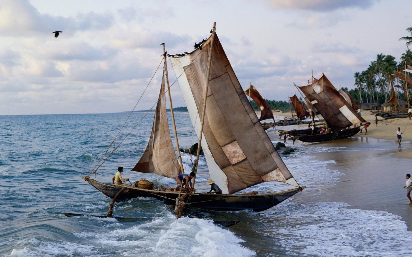 Маравилла рыбалка на парусных лодках