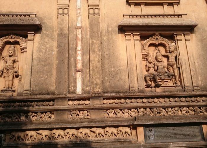 Temple Kelaniya Rajamaha wall