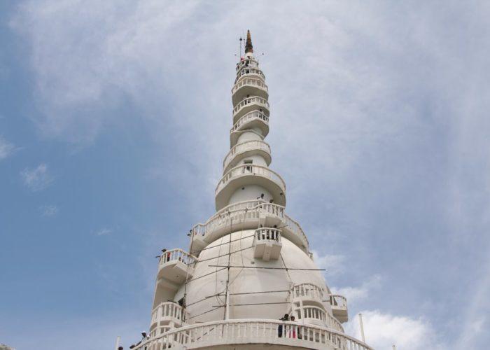 Ambuluwawa Mountain Hill temple