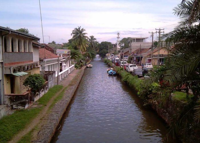 Dutch Canal Negombo lanka