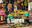 Fruit market in Galle