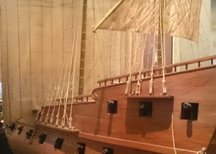 Museum in Galle ship