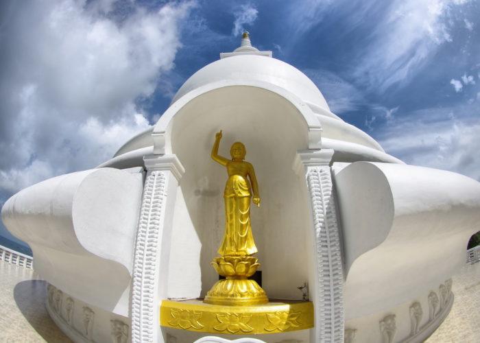 Japanese Peace Pagoda stupa