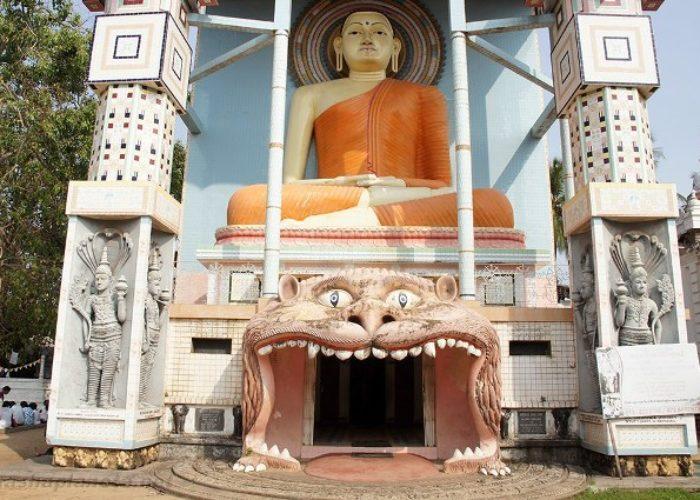 Agurukaramulla Temple front